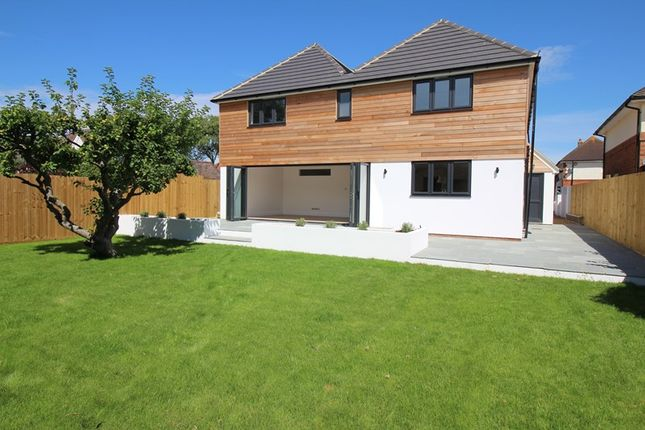 Thumbnail Detached house for sale in Shorefield Way, Milford On Sea, Lymington