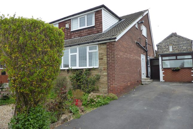 Thumbnail Semi-detached bungalow to rent in Laburnum Road, Dewsbury