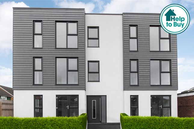 Thumbnail Flat for sale in Christopher Close, Blackfen, Sidcup, Kent