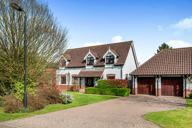 Thumbnail Detached house for sale in Burlington Close, Palgrave, Diss