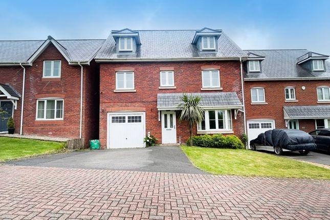 Thumbnail Detached house for sale in Coed Derw, Bridgend
