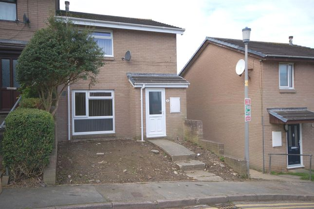 Thumbnail End terrace house for sale in Garth Dinas, Penparcau, Aberystwyth