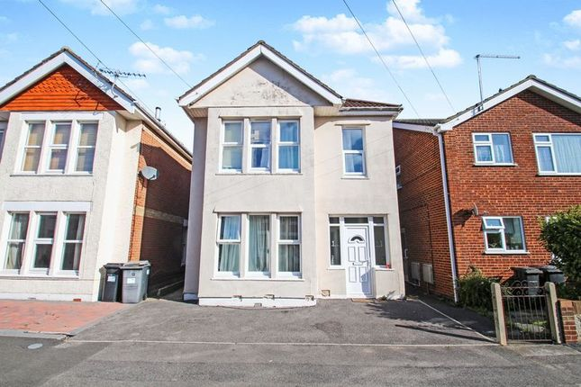 Thumbnail Detached house for sale in Elmes Road, Winton, Bournemouth