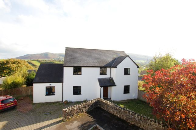 Thumbnail Detached house for sale in Pen Y Fan Close, Libanus, Brecon