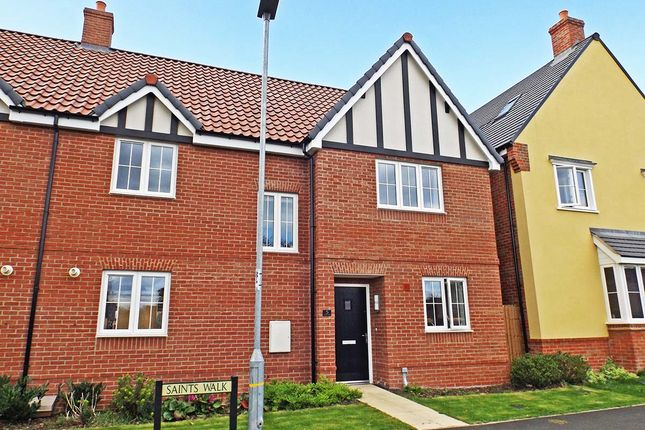 Thumbnail Semi-detached house for sale in Saints Walk, Kedington, Haverhill