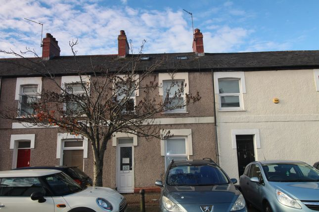 Thumbnail Terraced house for sale in Rhymney Street, Cathays, Cardiff