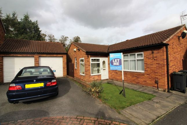 Thumbnail Detached bungalow to rent in Whitemeadows, Darlington