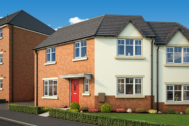 """Thumbnail Semi-detached house for sale in """"The Primrose"""" at Middlepark Road, Dudley"""