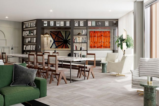 Residents Lounge of One Crown Place, Hackney EC2A