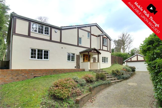 Thumbnail Detached house for sale in Branksome Park Road, Camberley, Surrey