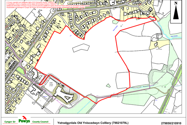 Thumbnail Land for sale in Hendre Ladus, Ystradgynlais, Swansea