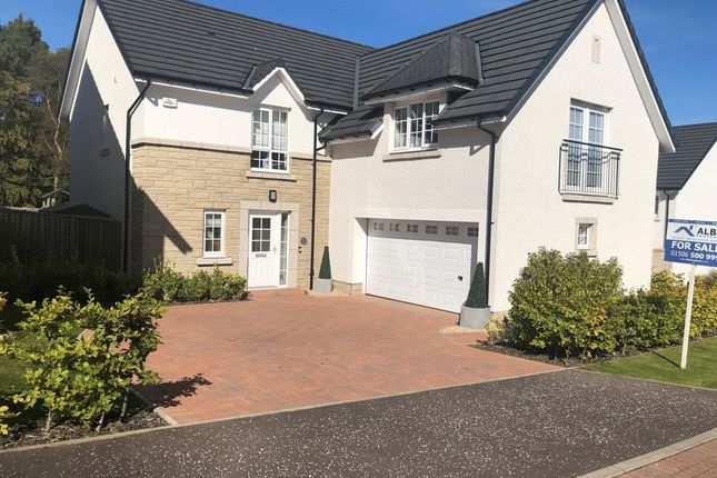Thumbnail Detached house for sale in 6 West Cairn View, Murieston, Livingston