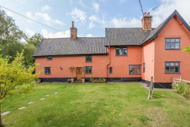 Thumbnail Semi-detached house to rent in Street Farm, Cratfield Road, Fressingfield Eye, Suffolk