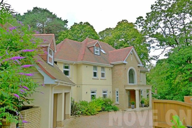 Thumbnail Detached house to rent in Upper Golf Links Road, Broadstone, Dorset