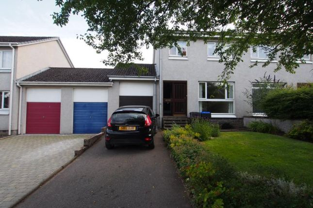 Thumbnail Semi-detached house to rent in Grant Road, Banchory
