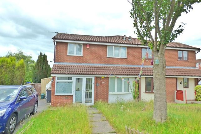 Thumbnail Semi-detached house to rent in Winterside Close, Waterhayes, Newcastle