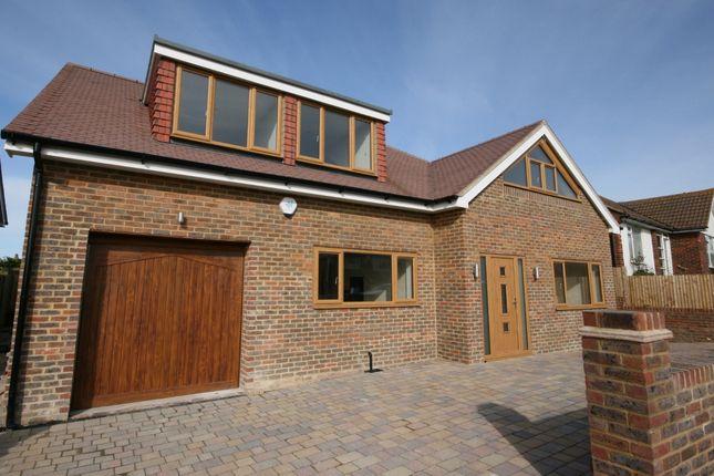 Thumbnail Detached house for sale in Lenham Avenue, Saltdean, Brighton
