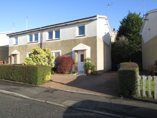 3 bed semi-detached house to rent in Robert Burns Avenue, Clydebank G81