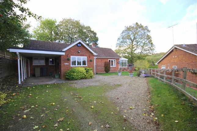 Thumbnail Detached bungalow for sale in The Park, Lambourn, Berkshire