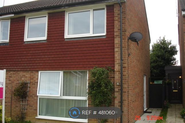 Thumbnail Semi-detached house to rent in Lawrence Walk, Newport Pagnell