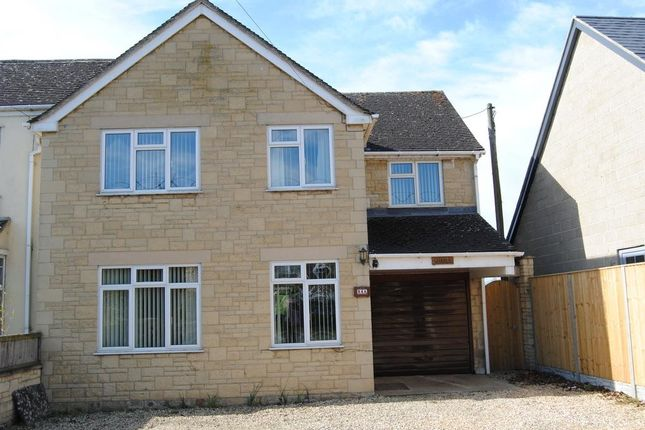 Thumbnail Semi-detached house to rent in Abingdon Road, Standlake, Oxfordshire