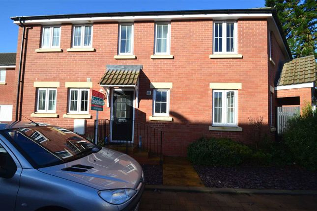 Thumbnail Flat to rent in Webbers Way, Tiverton, Devon