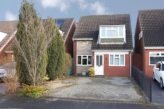 Thumbnail Detached house to rent in Cherrington Drive, Cheslyn Hay, Walsall
