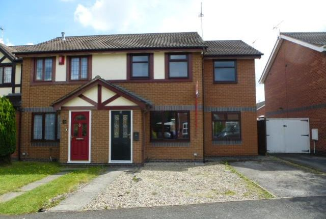 4 bed semi-detached house to rent in Kestrel Drive, Coppenhall, Crewe, Cheshire CW1