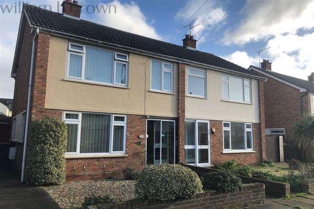 Thumbnail Semi-detached house to rent in Meadowvale Close, Ipswich