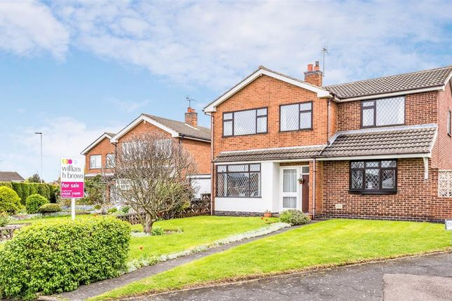 Thumbnail Detached house for sale in Oxburgh Close, Loughborough