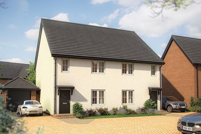 """Thumbnail Semi-detached house for sale in """"The Chaffinch"""" at Shefford Road, Meppershall, Shefford"""