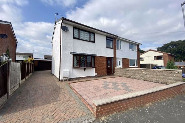 Thumbnail Semi-detached house for sale in Fairhaven, Holywell, Flintshire