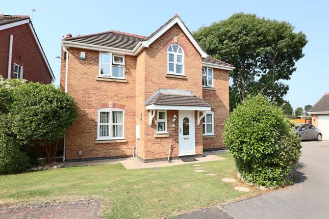 Thumbnail Detached house for sale in Welsh Close, Lightwood, Longton, Stoke-On-Trent