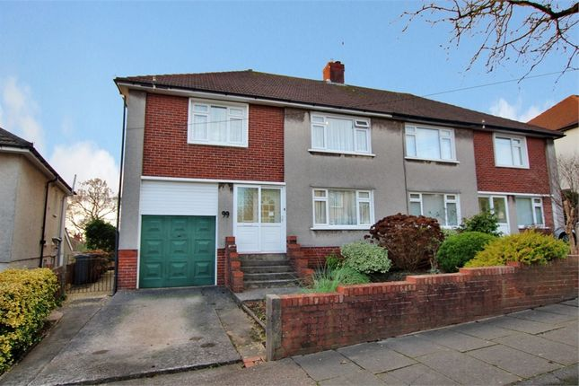 Thumbnail Semi-detached house for sale in Brandreth Road, Penylan, Cardiff