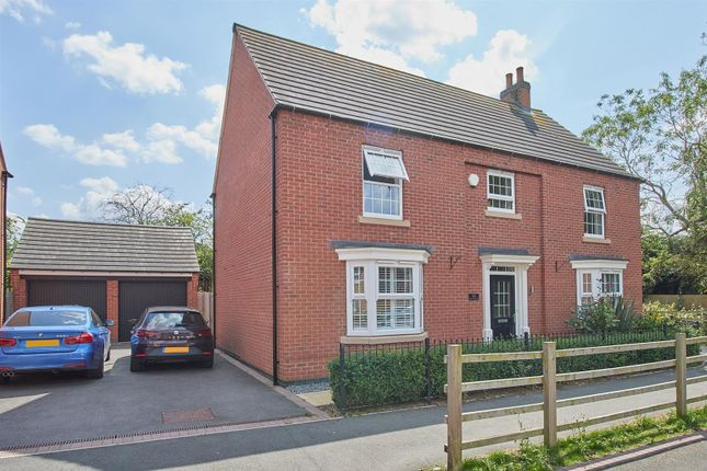 Thumbnail Detached house for sale in Hilary Bevins Close, Higham-On-The-Hill, Nuneaton