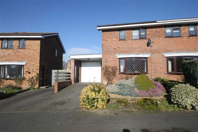 Thumbnail Semi-detached house for sale in Aldwick Drive, Shrewsbury