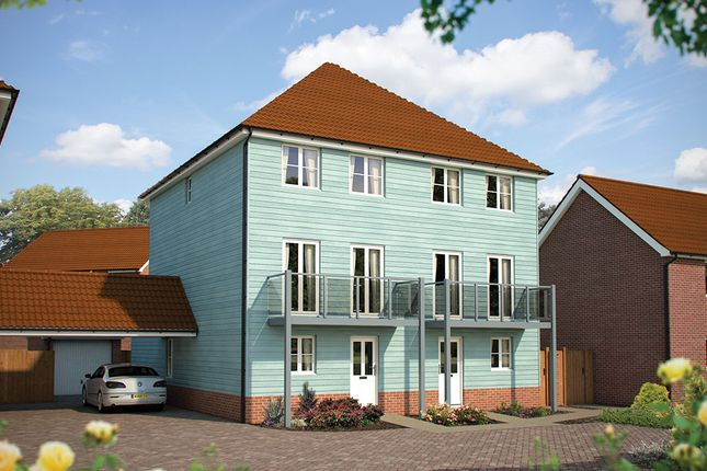 """Thumbnail Semi-detached house for sale in """"The Harrogate"""" at Dragonfly Lane, Cringleford, Norwich"""