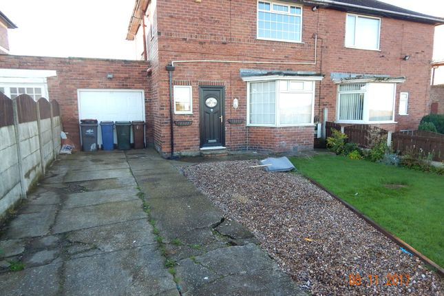 Thumbnail Semi-detached house to rent in Chapel Lane, Thurnscoe, Rotherham