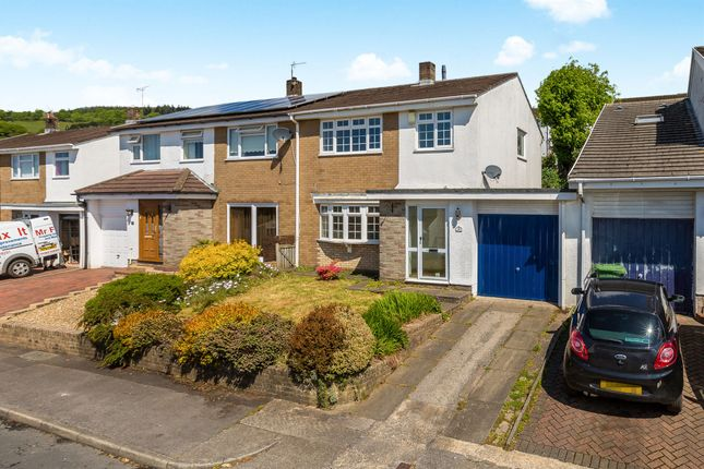 Thumbnail Semi-detached house for sale in Pinewood Hill, Talbot Green, Pontyclun