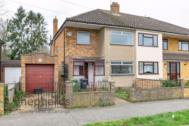 Thumbnail Semi-detached house for sale in Dudley Avenue, Waltham Cross, Hertfordshire