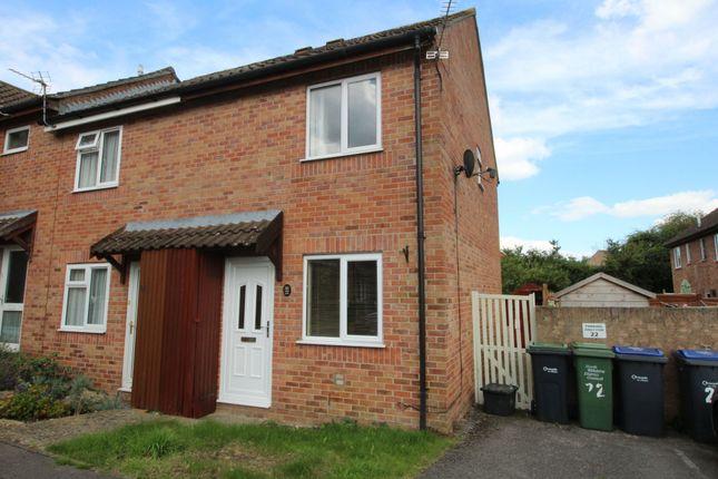 Thumbnail End terrace house for sale in Centurion Close, Pewsham, Chippenham