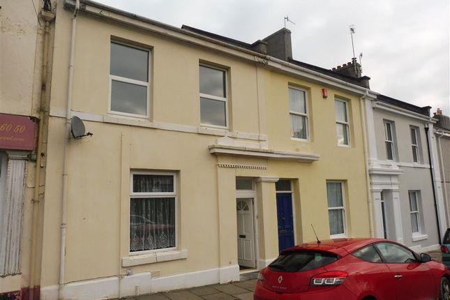 Thumbnail Flat to rent in Waterloo Street, Stoke, Plymouth