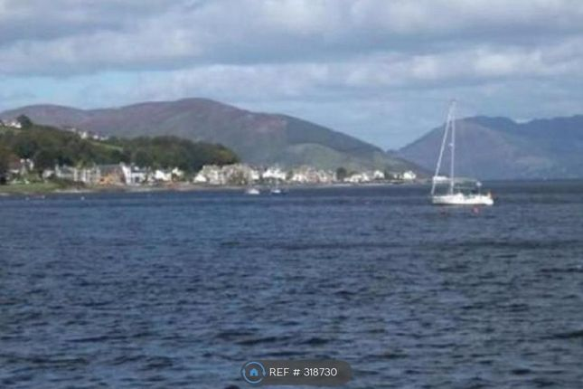 Thumbnail Flat to rent in Ferfadd Road, Rothesay, Isle Of Bute
