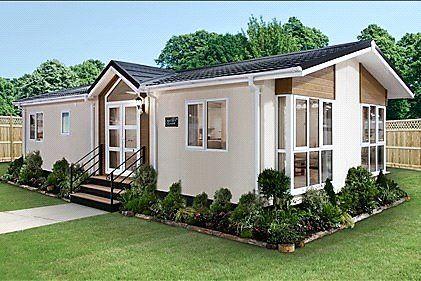 Thumbnail Detached bungalow for sale in Oaklands Residential Park, Glendale Road, Okehampton, Devon