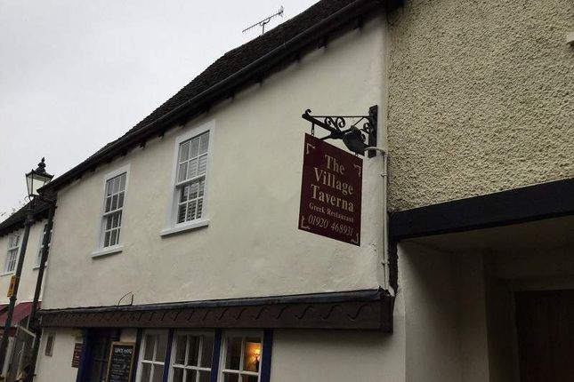 Thumbnail Restaurant/cafe for sale in 42 - 44 West Street, Ware