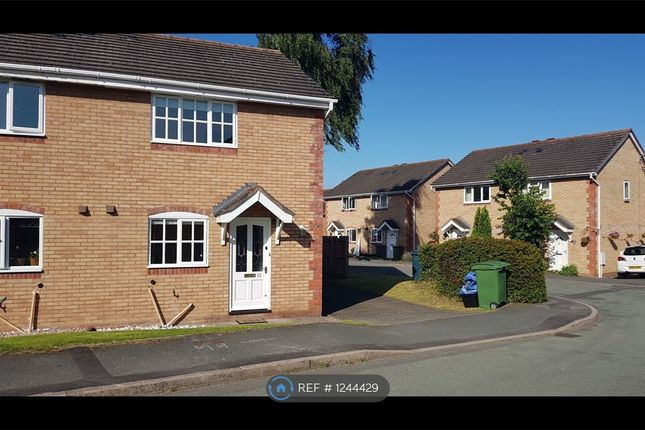 3 bed semi-detached house to rent in Chatwood Court, Shrewsbury SY1