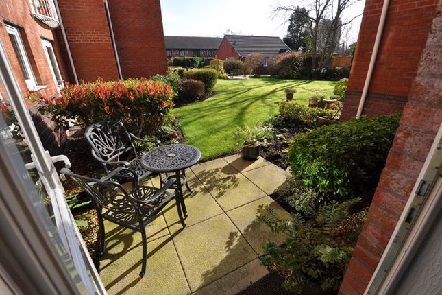 Patio Area of Lovell Court, Parkway, Holmes Chapel CW4