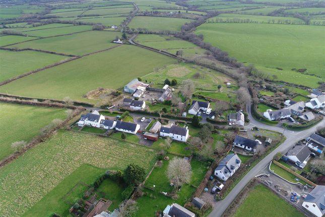 Aerial Shot of Penffordd, Clynderwen SA66