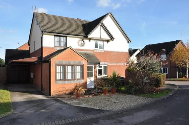Thumbnail Semi-detached house for sale in Lingfield Close, Chippenham, Wiltshire