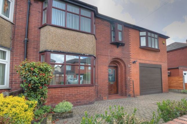 Thumbnail Semi-detached house for sale in Woodland Avenue, Farnworth, Bolton